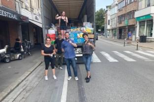 Willebroekenaars brengen hulpgoederen naar getroffen gezinnen in Verviers