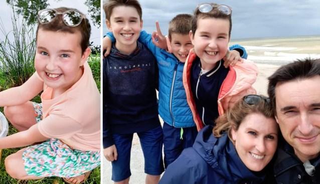 """Ouders vertelden Saartje (11) niet dat leukemie te ver gevorderd was: """"Nog drie wonderweken gehad"""""""
