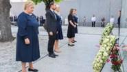 """Premier van Noorwegen roept bij herdenking van aanslag Breivik op tot """"verzet tegen haat"""""""