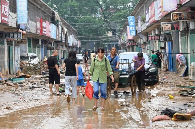 Noodweer eist al minstens 33 slachtoffers in China