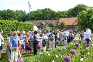 Bloemenpracht in plantentuin