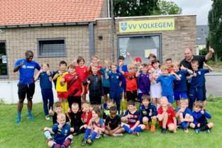 Voetbalclub sluit eerste zomerkamp succesvol af