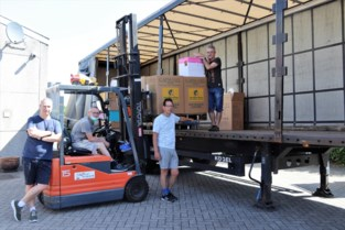Puurs-Sint-Amands schenkt 50.000 euro bovenop noodhulp
