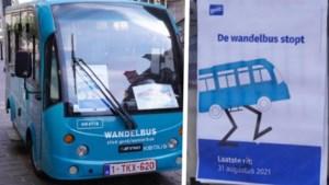 Gent trekt streep onder de 'wandelbus': gratis busjes verdwijnen uit het straatbeeld
