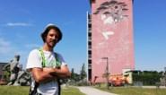 Immense muurschildering van Gijs Vanhee aan Oud Oefenplein krijgt steeds meer vorm