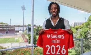 Soualiho Meïté (ex-Zulte Waregem) wordt ploegmaat van Jan Vertonghen bij Benfica