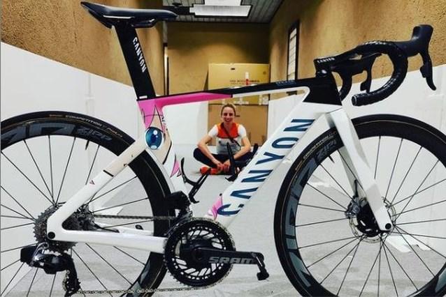 Annemiek van Vleuten krijgt speciale fiets met Japanse toets voor Spelen