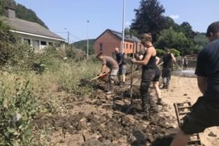 """Antwerpse brandweermannen ruimen al week puin in rampgebied: """"We gaan dat blijven doen zolang er hulp nodig is"""""""