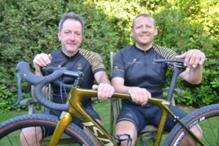 Peter en Mike fietsen België rond om scouts te steunen: 1.000 kilometer in zes dagen