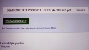 Pelt waarschuwt voor phisingmails na hacking mailbox