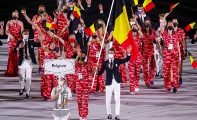 OS LIVE. Tokio 2021 is officieel geopend: Nafi Thiam en co glunderen met Belgische vlag, drones stelen de show