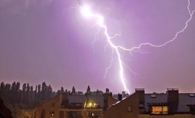 KMI waarschuwt met code oranje voor felle onweersbuien, alleen code geel in West-Vlaanderen
