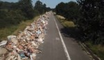 Na de zondvloed: spooksnelweg omgetoverd tot kilometerslang megastort