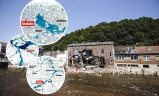 Wat als de zondvloed van Luik over uw provincie was getrokken? Rapport voorspelt hoe zwaar de overlast dan zou zijn