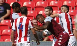Wesley Moraes (ex-Club Brugge) laat zich gelden in oefenpot met vechtpartij, kopstoot en rode kaart