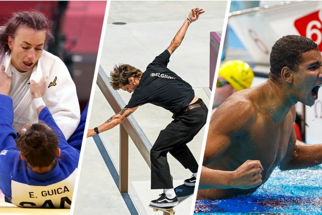 Dit hebt u deze nacht gemist: wereldrecord en stunt van tiener in het zwembad, forfait van Andy Murray en Belgen met wisselend succes