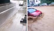 """Waanzinnige beelden tonen hoe straat in Dinant in enkele seconden tijd verandert in kolkende rivier: """"Ongelofelijk"""""""