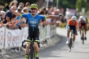 """Victor Vaneeckhoutte moet in sprint met drie buigen voor Niels Driesen: """"Meer zat er niet in"""""""