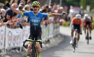 Niels Driesen is Belgisch kampioen bij de tweedejaars nieuwelingen