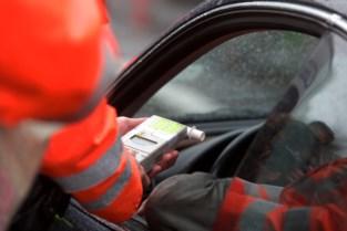 Politie betrapt vier chauffeurs onder invloed van alcohol