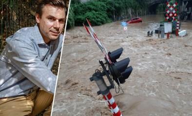 """Nu al opnieuw watersnood, wordt dit het nieuwe normaal? """"We moeten leren aanvaarden dat het gaat overstromen: tegen het einde van deze eeuw tot vertienvoudiging van dit soort fenomenen"""""""