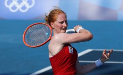 Alison Van Uytvanck stoot als enige Belgische door naar tweede ronde en treft nu reekshoofd Petra Kvitova