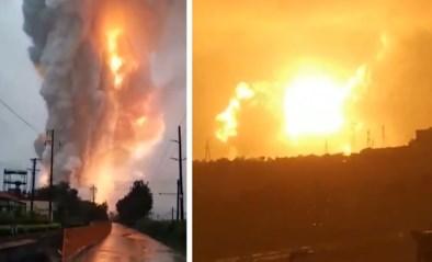 Grote explosie in Chinese aluminiumfabriek nadat nabijgelegen rivier uit oevers trad door noodweer