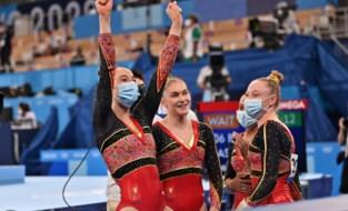 Historische dag voor Belgische turnmeisjes: topscore voor Derwael, kwalificatie voor teamfinale en allroundfinale voor Verkest