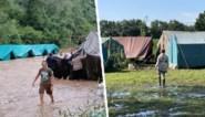 Alle tentenkampen in de provincie Namen moeten onmiddellijk geëvacueerd worden als ze in risicogebied staan