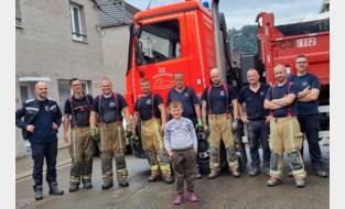Brandweerzone Vlaamse Ardennen blijft puin ruimen in rampgebied