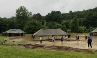 """""""Negeer zeker raad van boswachter niet"""": extra instructies voor jeugdkampen na noodweer, drie kampen vervroegd stopgezet"""
