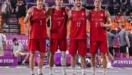 """Amateurs van 3x3-ploeg op randje van kwartfinales op de Spelen: """"De nieuwe notaris is nog even aan het basketten"""""""