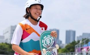 Dertien jaar en olympisch kampioen: Japanse is eerste vrouwelijke goudenmedaillewinnares in het skateboarden