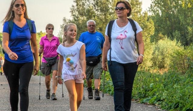 Wandelen en lopen in eigen dorp