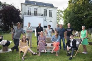 Kasteel omgetoverd tot pop-up kunsthuis