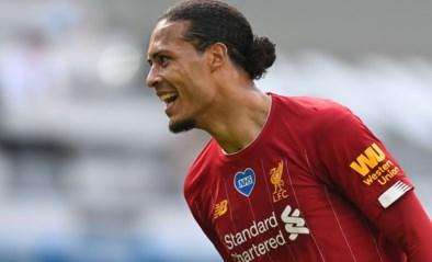Nederlander Virgil van Dijk staat dicht bij een comeback bij Liverpool na kruisbandblessure