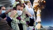 Macron moet op (nucleaire) eieren lopen: 25 jaar na laatste Franse kernproef bezoekt president Frans-Polynesië