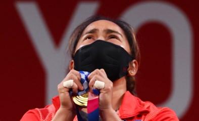 Gewichthefster Hidilyn Diaz bezorgt Filipijnen eerste olympische titel ooit
