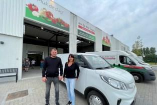 """Ann en Wim maken hun groenten- en fruithandel volledig ... groen: """"Elektrische bestelwagens vervangen huidig wagenpark"""""""