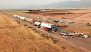 Zeven doden na kettingbotsing door zandstorm in Utah