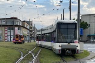 Tramverkeer verstoord na ontsporing op het Kiel