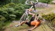 """Mathieu van der Poel reageert na zijn val in olympische mountainbike-race: """"Ik kan nog niet aangeven wanneer ik terug zal koersen"""""""