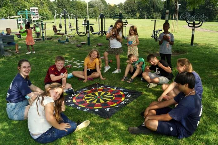 Nieuwe speelpleinwerking Bounce laat kinderen samenspelen