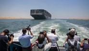 Containerschip Ever Given vrijgegeven na 100 dagen aan de ketting