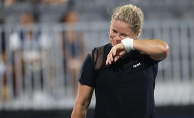 Kim Clijsters, met ingepakte kuit, verliest eerste (exhibitie)wedstrijd in bijna een jaar