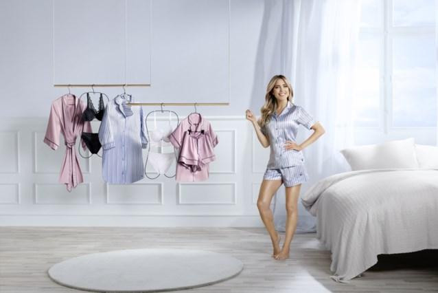 Nederlands model Sylvie Meis lanceert lingeriecollectie bij Aldi