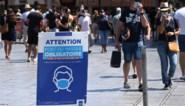 Mondmasker duikt in meerdere Franse departementen weer op in straatbeeld