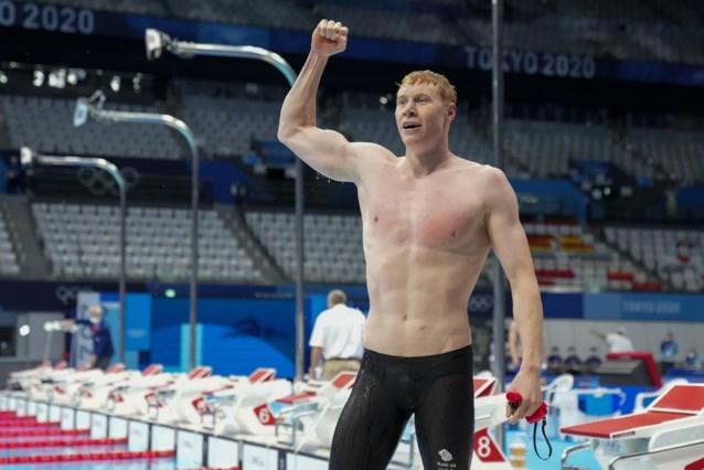 Twee keer corona, maar toch olympische zwemtitel voor Tom Dean