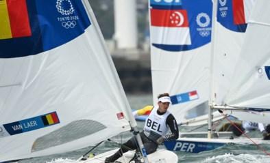 Zeiler Wannes Van Laer na vijf regatta's op de Spelen 28e in de Laser-klasse, zesde regatta voorlopig uitgesteld