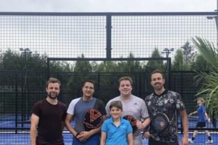 Tennisclub breidt uit met drie padelterreinen